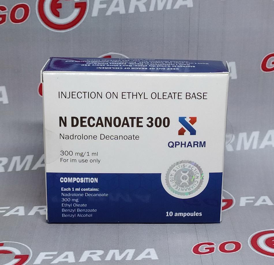 N DECANOATE 300 mg/ml - цена за 1 мл купить в России