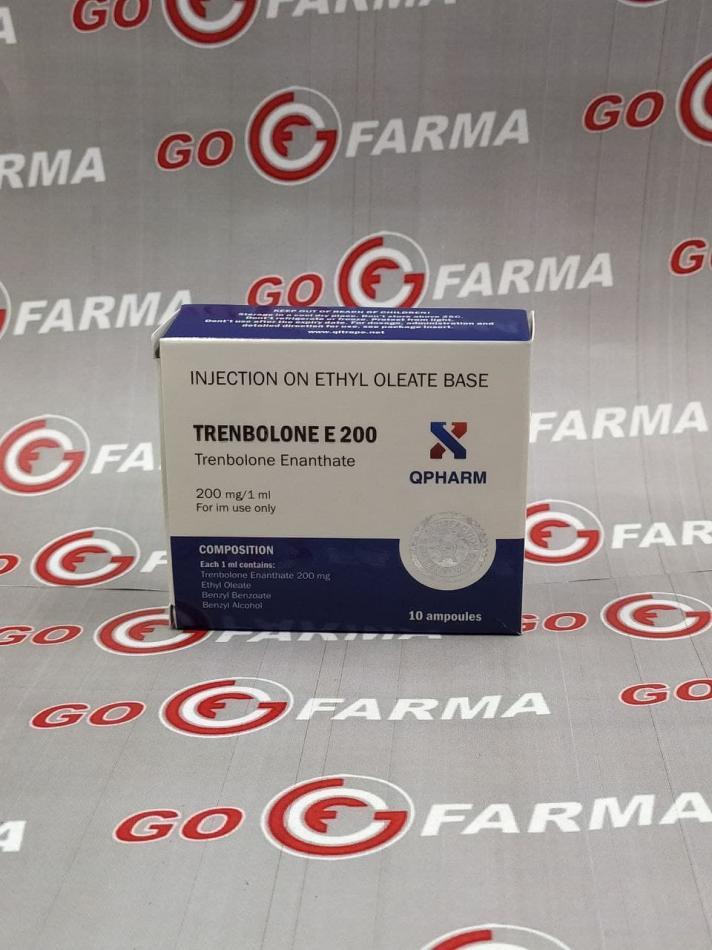 Qpharm Trenbolone E 200mg/ml - цена за 1 мл купить в России